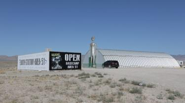 Basecamp Area 51 is being held at the Alien Research Center in Hiko