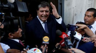 Екс-президент Перу Алан Гарсія