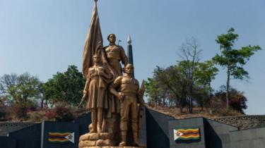 Irimbi ry'intwari ry'i Harare ni iryo kwibuka abarwanyije ubutegetsi bwa gikoloni bw'Abongereza
