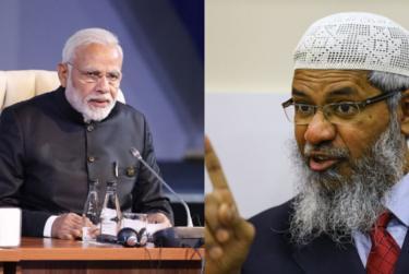 modi and zakir