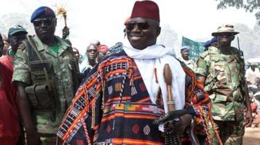 Yahya Jammeh yagiye ku butegetsi mu 1994 afite imyaka 29 abuvaho nyuma y'imyaka 22