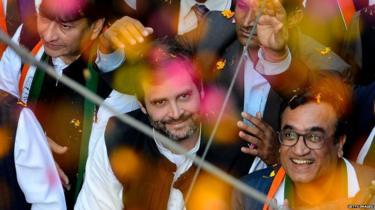 राहुल गांधी, कांग्रेस