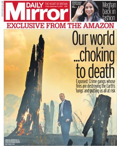 Daily Mirror 13 September 2019