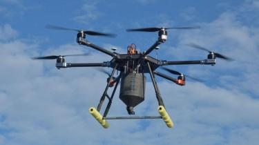 Galapagos drone