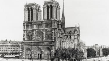 Notre-Dame in 1900