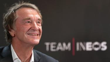 Sir Jim Ratcliffe, founder of Ineos chemicals company
