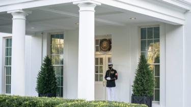 The White House is still trying to cope with a Covid-19 outbreak