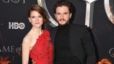 Rose Leslie iyo Kit Harrington