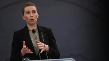 Danish Prime Minister Mette Frederiksen (6 April 2020)