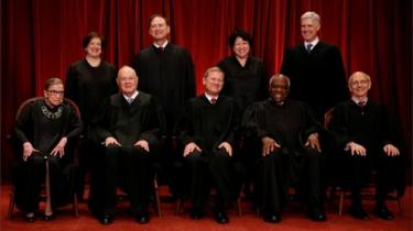 Members of the US Supreme Court