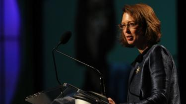 Abigail Johnson with Fidelity Investments