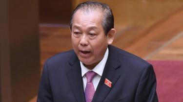 Phó Thủ tướng Thường trực Trương Hòa Bình đôn đốc cuộc thanh tra vụ Mobifone mua AVG