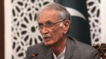 وفاقی وزیر دفاع پرویز خٹک