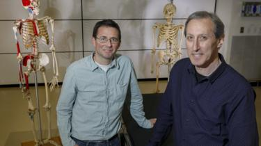 Dr Cam Walker and Dr Mark Hankin at Oregon Health and Science University