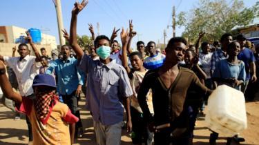 Anti-government protests in Khartoum, Sudan, January 25, 2019