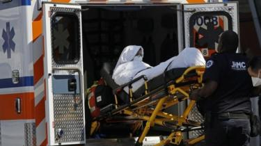 Passenger taken by ambulance to hospital on 5 September 2018