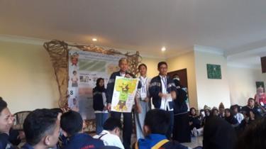 Dewa berkampanye tentang permasalahan anak kepada Forum Anak Nasional 2018