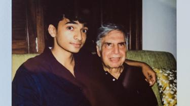 Shantanu Naidu and Ratan Tata