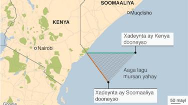 Khariidadda muranka badda Kenya iyo Soomaalia
