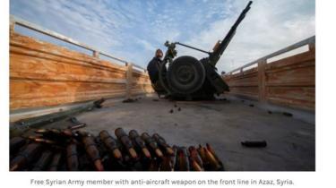 Una foto plagiada por Martins sobre la guerra en Siria