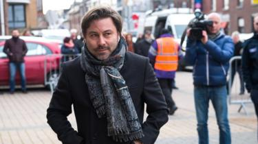 Belgian sport journalist and presenter Stephane Pauwels (2016 file picture)