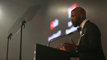 DJ Spoony during the 2019 PFA Awards at the Grosvenor House Hotel, London