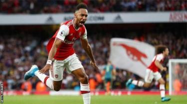 Mshambuliaji wa Arsenal na Gabon Pierre-Emerick Aubameyang