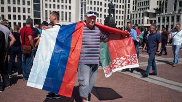 Акція на підтримку Лукашенка