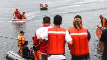 Nearly 200 people are missing after a ferry sank in Lake Toba in North Sumatra, Indonesia, 21 June 2018