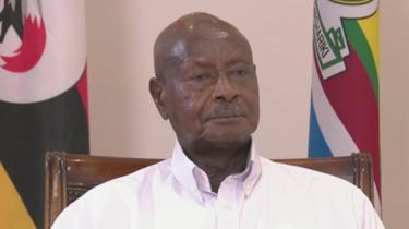Perezida Museveni mu kiganiro na BBC