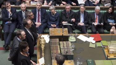 Votes in Parliament