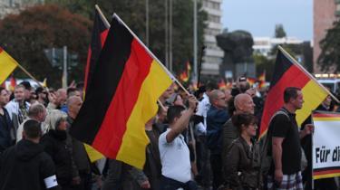 Pro Chemnitz far-right rally, 14 September, 2018