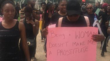Protest on top abuse of suspected prostitutes for Abuja