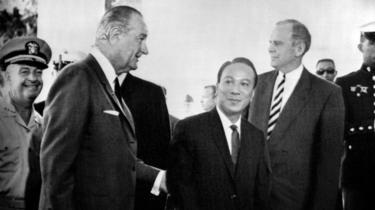 Tổng thống Johnson và Tổng thống Thiệu