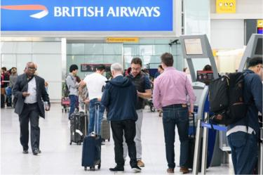 BA terminal at Heathrow
