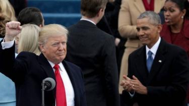 Trump na Obama