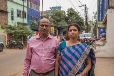 Pradeep and Suniti Choudhury