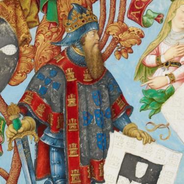 Afonso III, rey de Portugal,