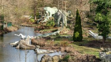 Dinosaur Park, Crystal Palace, London