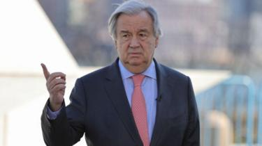 Tổng Thư ký LHQ Antonio Guterres