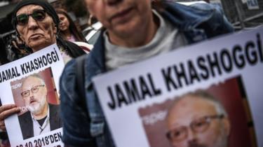 Protes terhadap pembunuhan Khashoggi