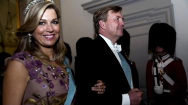 King Willem-Alexander and Queen Maxima, in a photo, taken in May 2018 in Denmark