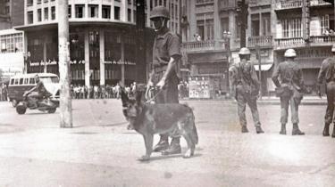 Policial na ditadura