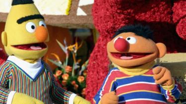 Bert, left, and Ernie, right