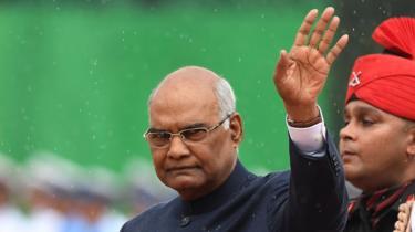 Indian President Ram Nath Kovind