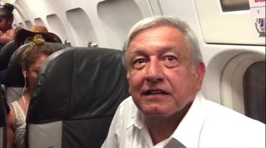 Mexico's President-elect Andrés Manuel López Obrador