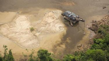 Garimpo na Terra Indígena Yanomami