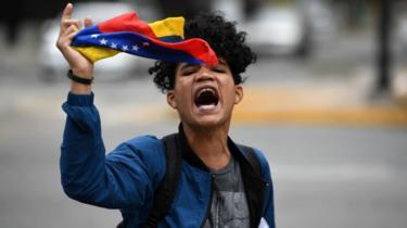 Joven manifestante