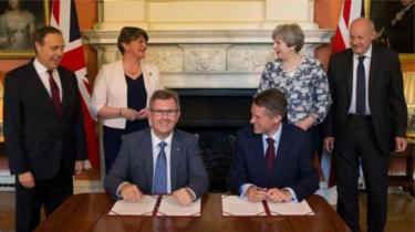 DUP-Conservative confidence and supply agreement