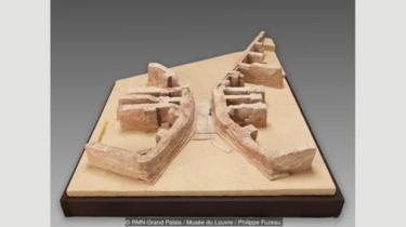 Model ini menunjukkan jembatan pertama dalam sejarah; Mesopotamia berarti `tanah di antara sungai-sungai` dalam bahasa Yunani Kuno.